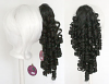 Ringlet Curly Clip - Natural Black