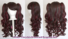 Meiko - Chocolate Brown and Burgundy Red Mixed Blend