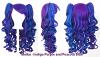 Meiko - Indigo Purple and Peacock Blue Mixed Blend
