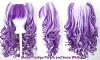 Meiko - Indigo Purple and Snow White Mixed Blend
