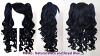 Meiko - Natural Black and Royal Blue Mixed Blend