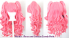 Meiko - Rose and Cotton Candy Pink Mixed Blend