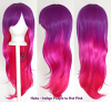Haku - Fade Indigo Purple to Hot Pink