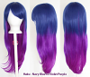 Haku - Fade Navy Blue to Violet