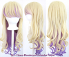 Nia - Flaxen Blonde and Lavender Purple
