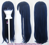 Tomoyo - Natural Black and Royal Blue Blend