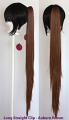 Long Straight Clip - Auburn Brown