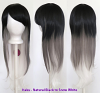 Haku - Fade Natural Black to Snow White