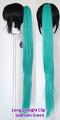 Long Straight Clip - Seafoam Green