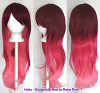 Haku - Burgundy Red to Rose Pink
