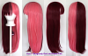 Suzu - Burgundy Red and Rose Pink