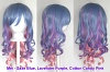 Mei - Saxe Blue, Lavender Purple, Cotton Candy Pink