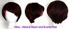 Shou - Natural Balck and Scarlet Red