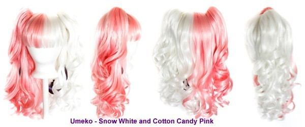 Umeko - Snow White and Cotton Candy Pink