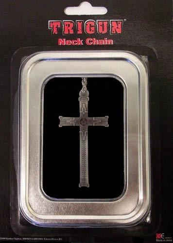Trigun Cross Necklace misc8601