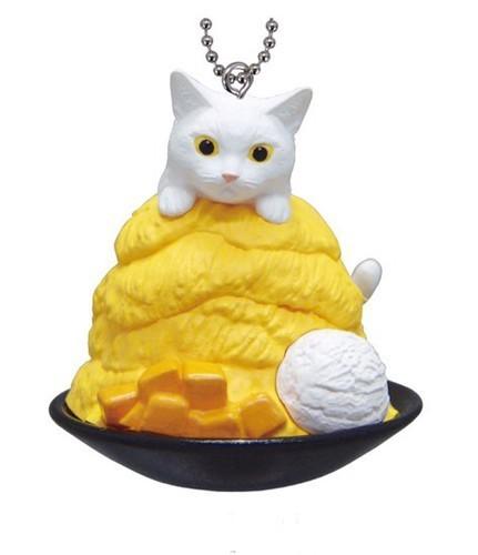 Neko Cafe Cat Cafe Calico on Cheesecake Vol 9 Mascot Key Chain