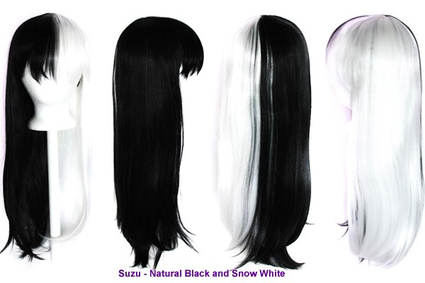 Suzu - Snow White and Natural Black
