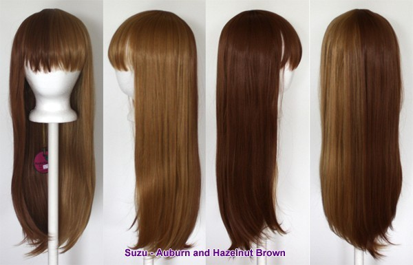 Suzu - Auburn and Hazelnut Brown