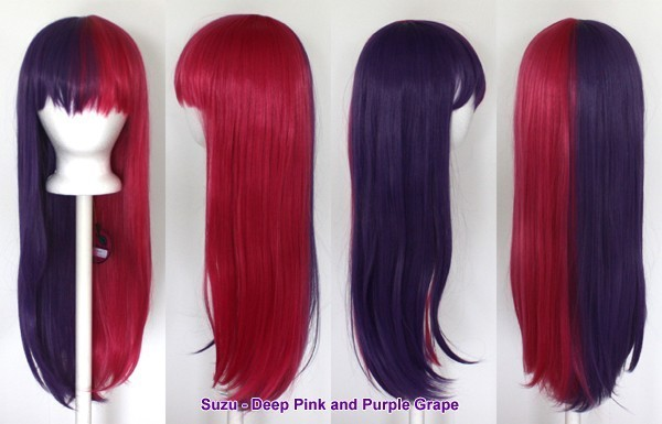 Suzu - Deep Pink and Purple Grape