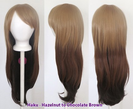 Haku - Fade Hazelnut to Chocolate Brown