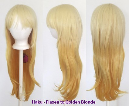 Haku - Fade Flaxen to Golden Blonde