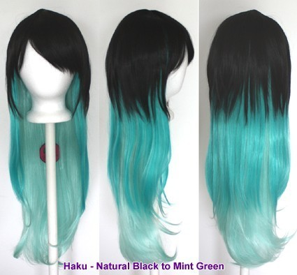 Haku - Natural Black to Mint Green