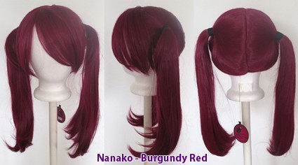 Nanako - Burgundy Red
