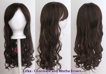 Erika - Chocolate and Mocha Brown Blend