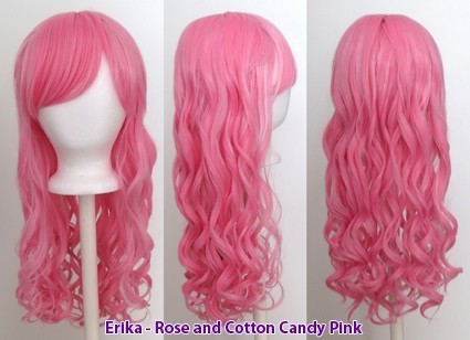 Erika - Rose and Cotton Candy Pink Blend