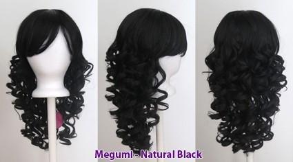 Megumi - Natural Black