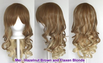 Mei - Hazelnut Brown, Flaxen Blonde