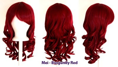 Mei - Burgundy Red