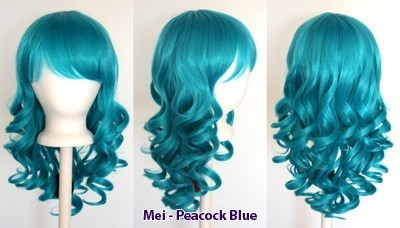Mei - Peacock Blue