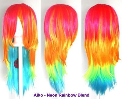 Aiko - Neon Rainbow Blend