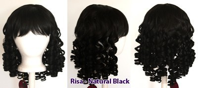 Risa - Natural Black
