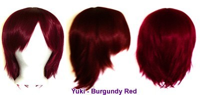 Yuki - Burgundy Red