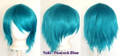 Yuki - Peacock Blue
