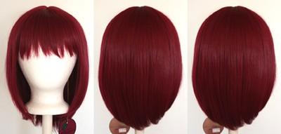 Yuna - Burgundy Red