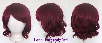 Hana - Burgundy Red
