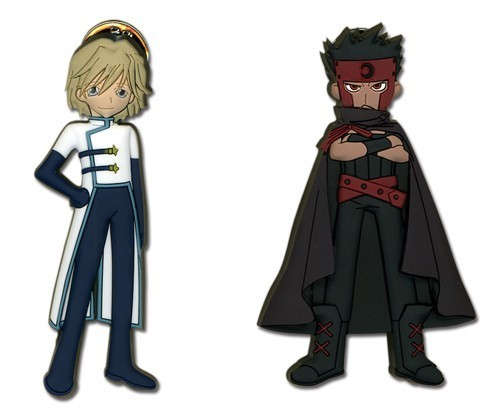 Tsubasa Reservoir Chronicle Kurogane and Faye Pin Set pi7387