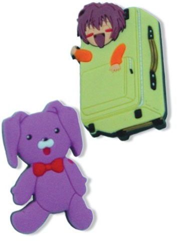 Gravitation Suitcase and Kumagoro Pin pin7377