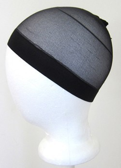 Wig Cap Black Nylon