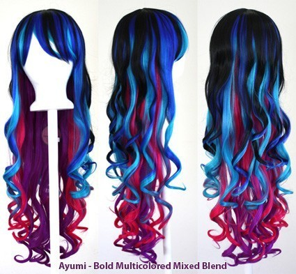 Ayumi - Bold Multi-Colored Mixed Blend