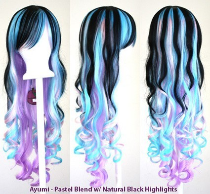 Ayumi - Pastel Blend with Natural Black Highlights