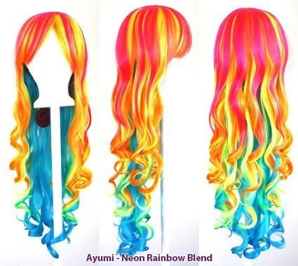 Ayumi - Neon Rainbow Blend