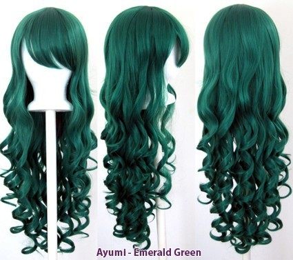 Ayumi - Emerald Green