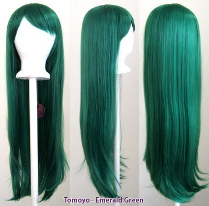 Tomoyo - Emerald Green