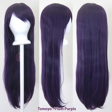 Tomoyo - Plum Purple