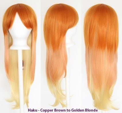 Haku - Fade Copper Brown to Golden Blonde