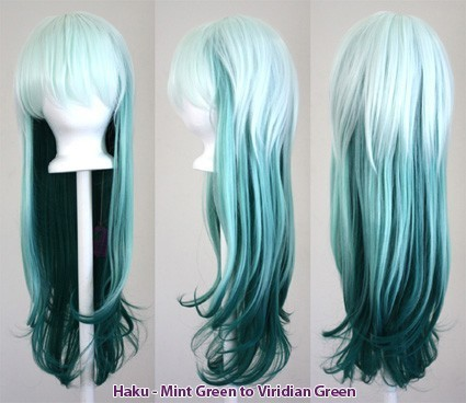 Haku - Fade Mint Green to Viridian Green